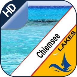 Chiemsee Lake offline nautical chart for boaters