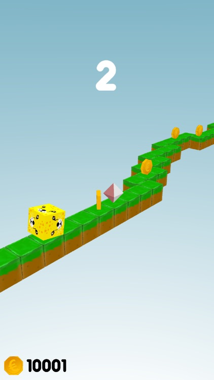Animals Path - tap and flips cube to change lane screenshot-3