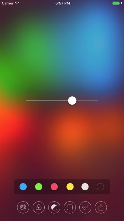 Blur - Create Beautiful Wallpapers screenshot-2