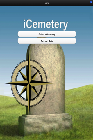 iCemetery - náhled