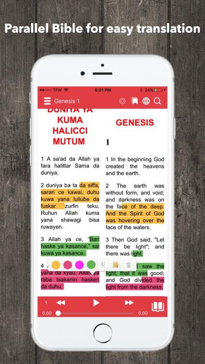 Hausa Bible Audio