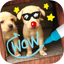 Draw on photos – drawings on pictures & take notes