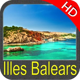 Balearic Is. Nautical Chart HD