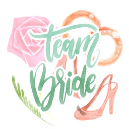 Beautiful Bridal Wedding stickers