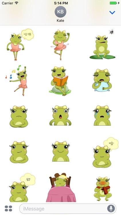 青蛙舞者貼圖