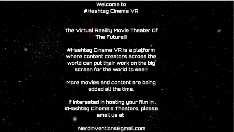 Hashtag #Cinema VR