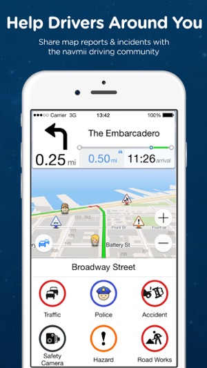 Navmii GPS Spain: Offline Navigation and Traffic on the App Store