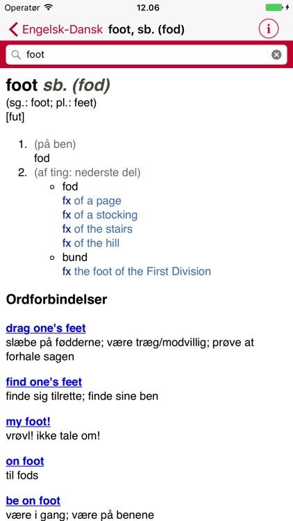 English Danish Dictionary - Medium screenshot-3