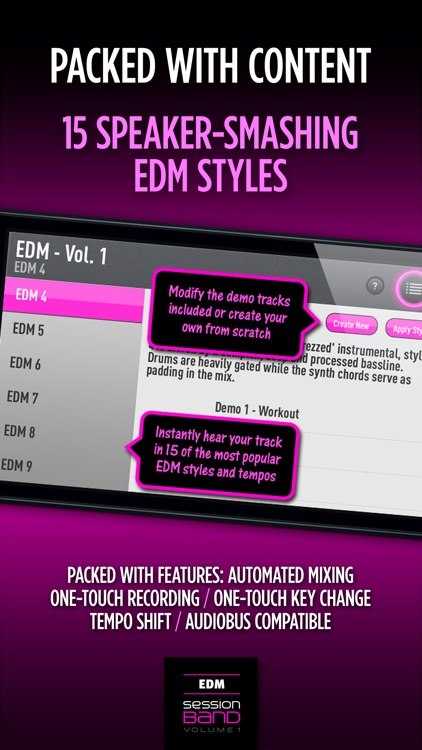 SessionBand EDM 1 screenshot-3