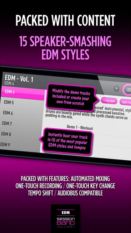 SessionBand EDM - Volume 1 screenshot-3
