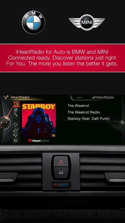 iHeartRadio for Auto screenshot-1