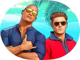 Baywatch Movie Stickers