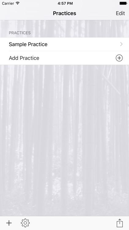 InfiniteMartialArts Practice Planner