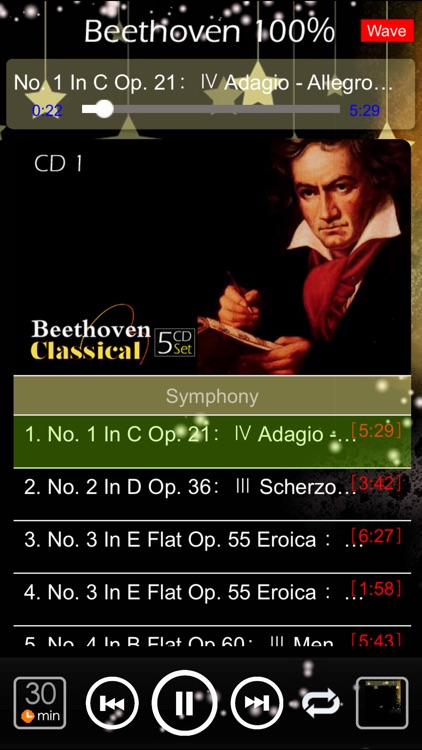 [5 CD] Beethoven Classic 100% screenshot-3