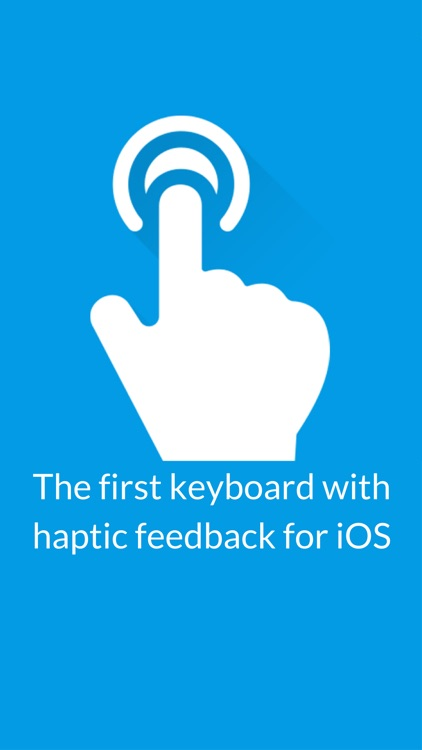 Haptic Keyboard for iPhone 7