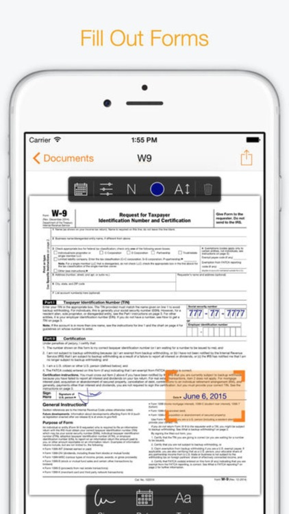 Turbo Sign - Quick PDF Sign & Fill Documents Forms screenshot-4