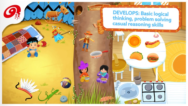 Little Ones Adventure - Sorting Shapes and Colors screenshot-3