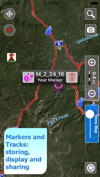 Terra Map Pro - GPS Hiking trails map screenshot-3