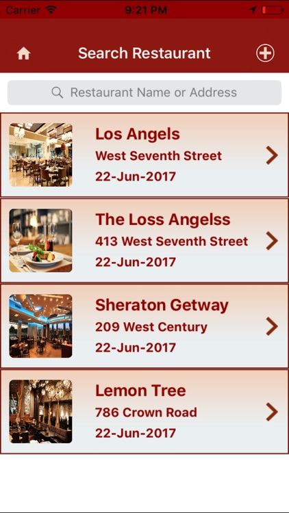 My Restaurants screenshot-3