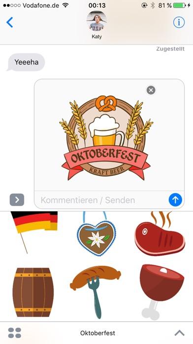 Octoberfest sticker package - Photo booth! screenshot 3