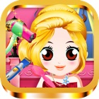 Baby Princess Salon Hair Makeover Games icon