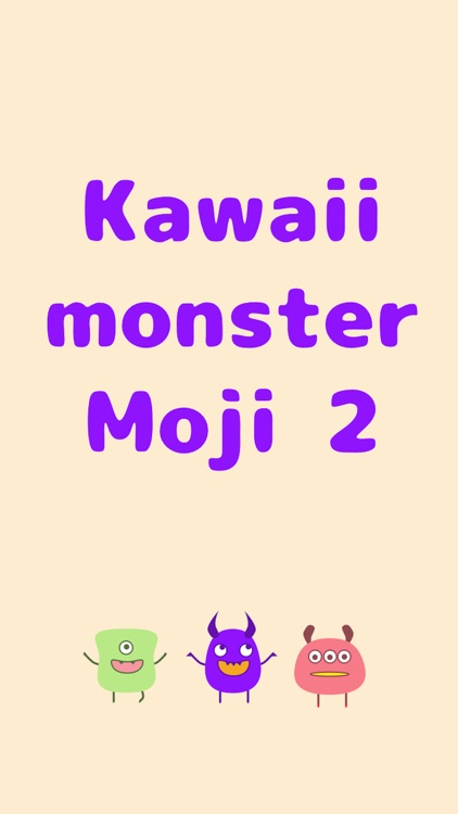 Cute Monsters 2