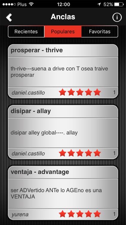 Speeq Spanish|English lite screenshot-4