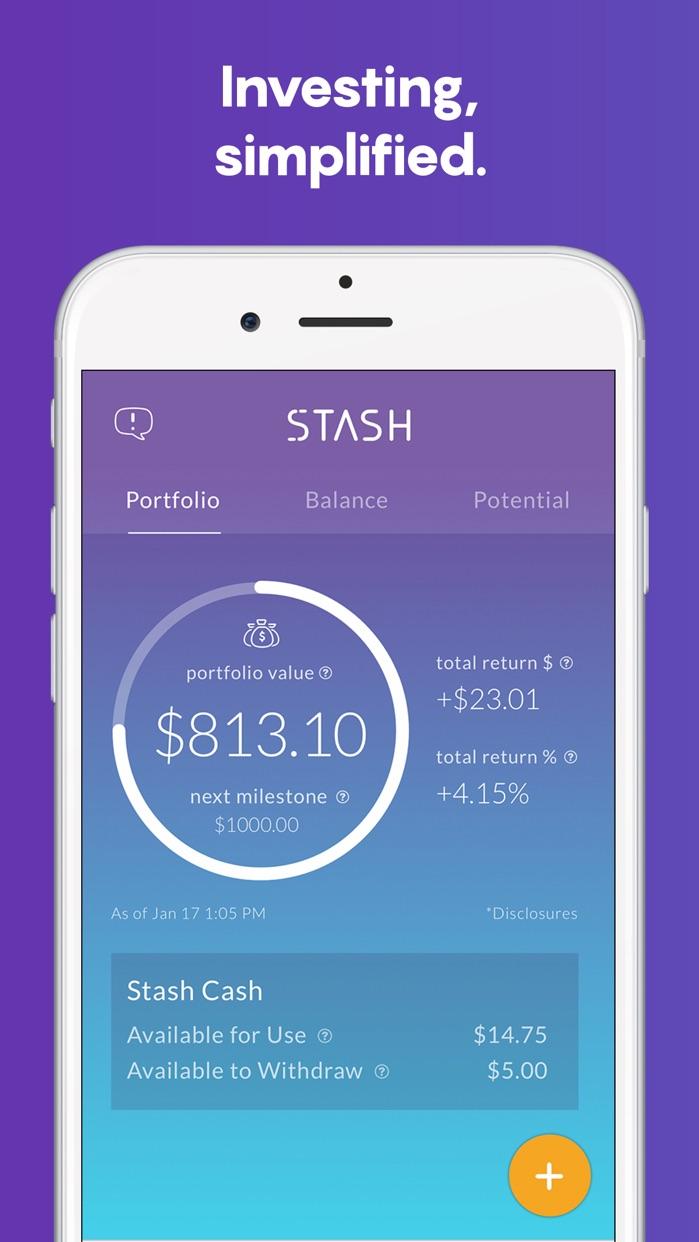 Stash: Invest, Learn, & Save Screenshot