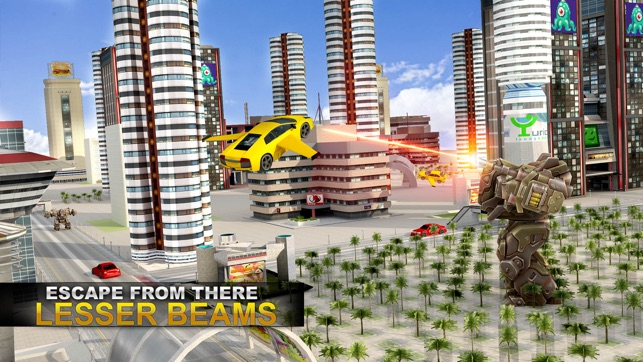 Future Flying Super Car Robot Fighter Stunts 3d On The App Store