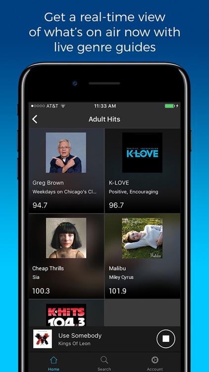 NextRadio - Live FM Radio screenshot-4