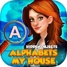 Activities of Hidden Objects : My House Alphabets