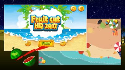 Fruit Cut HD 2017 screenshot one