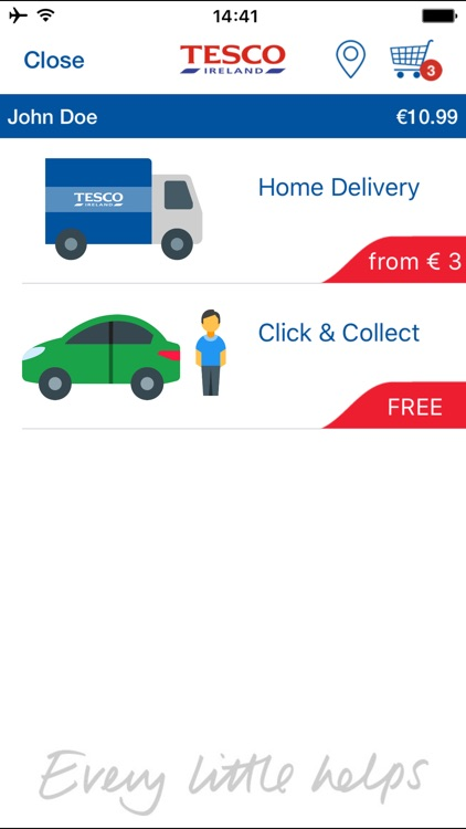 Tesco Ireland - Home Shopping screenshot-3