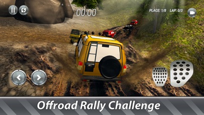 SUV Offroad Rally Full Screenshot