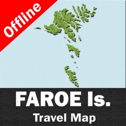 FAROE ISLANDS – GPS Travel Map Offline Navigator