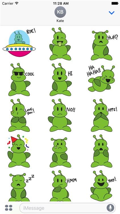Green Aliens