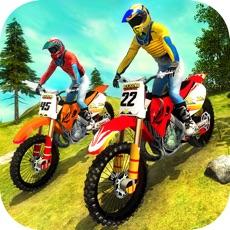 Activities of Uphill Offroad Motorbike Rider