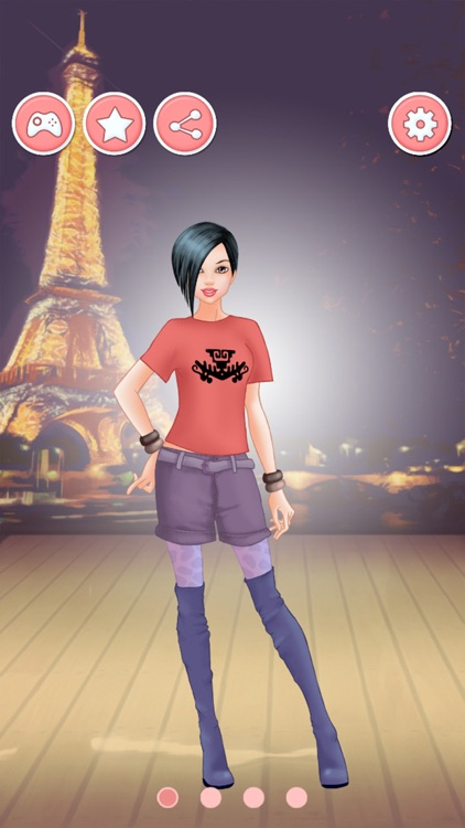 Travel Dress Up Games - Fashion And Makeover Game