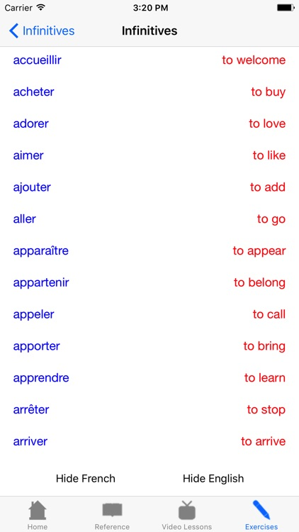 The French Grammar Guide Video Edition screenshot-3