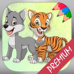 Animal coloring book coloring pages - Pro