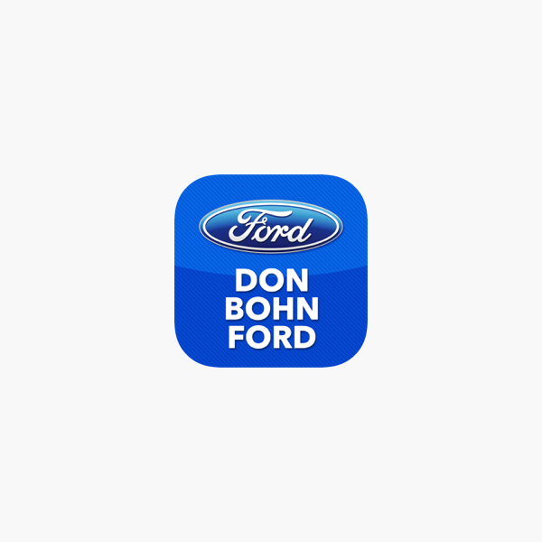 Don Bohn Ford On The App Store