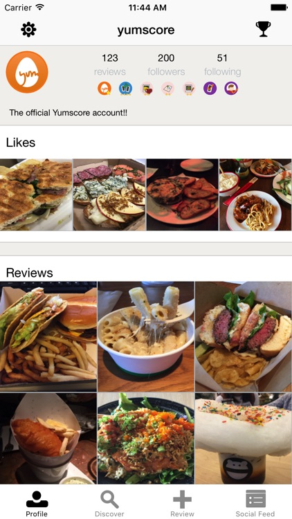 Yumscore - Restaurant Reviews & Photo Menu