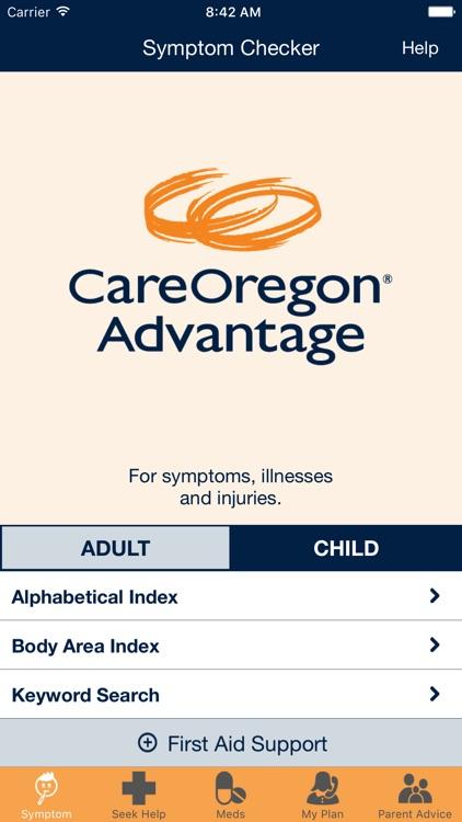COAdvantage mobile app
