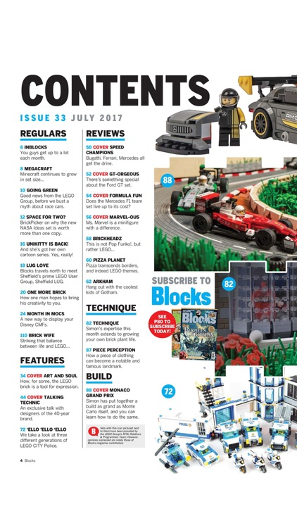 """Blocks - Building, Collecting and Customising """"for LEGO"""""""