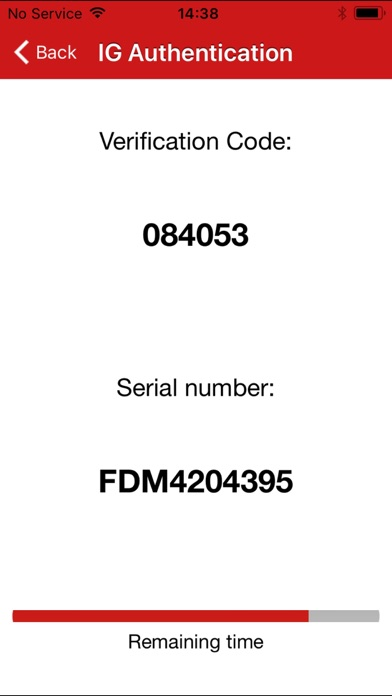 IG Authentication屏幕截圖2
