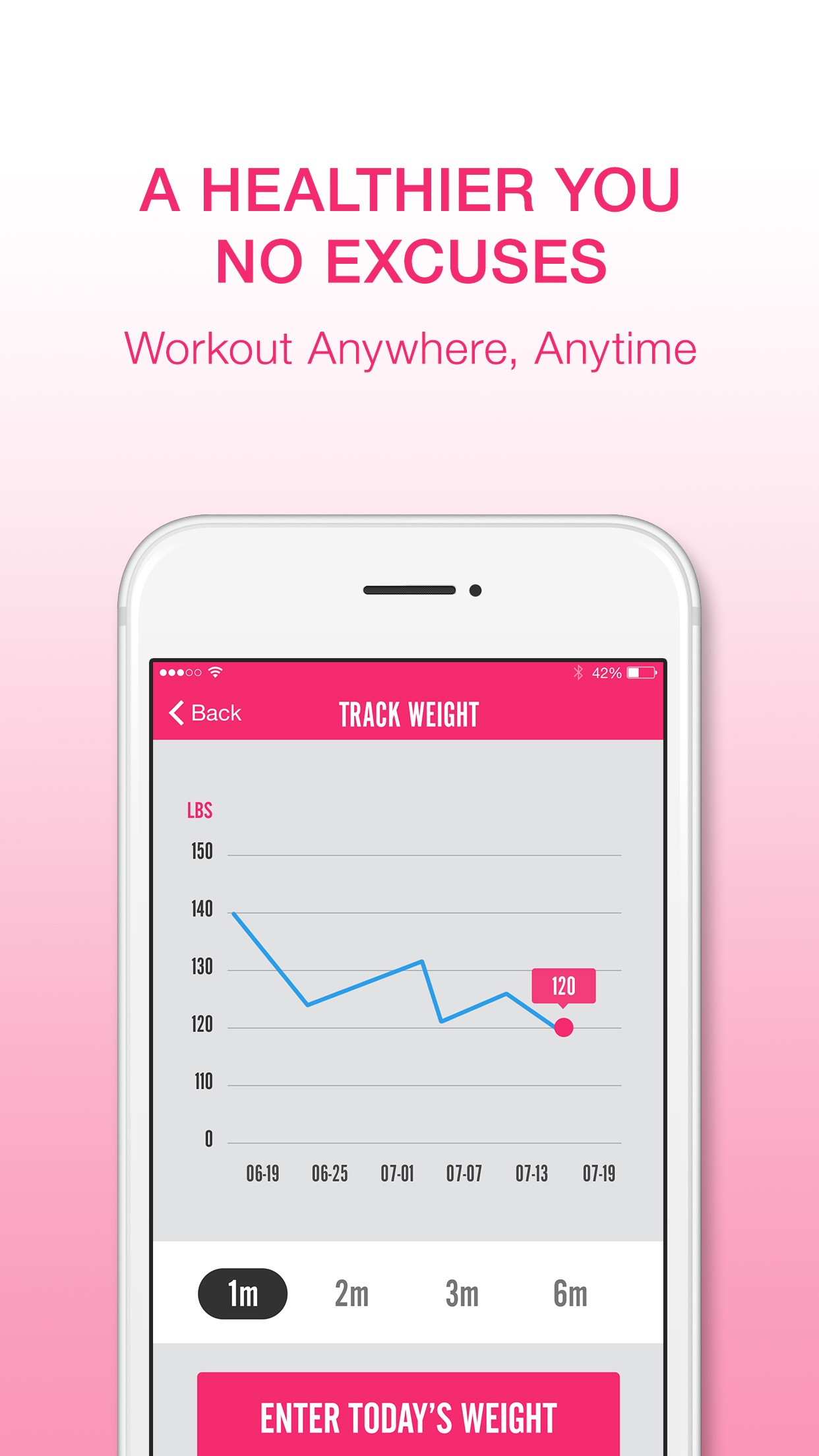 7 Minute Workout for Women: Exercise & Fitness App Screenshot