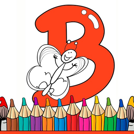 Alphabet Coloring Pages - Coloring book