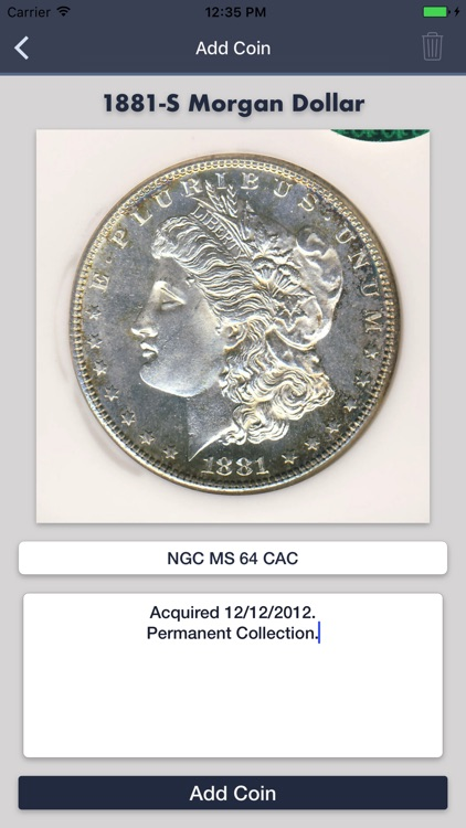 Morgan Dollars - Coin Guide & Collection Tracker screenshot-4