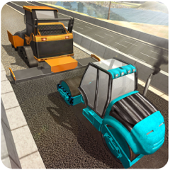 Highway Road Construction - Be A Pro City Builder