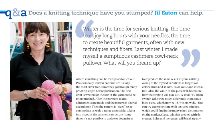Knit Simple Magazine screenshot-4